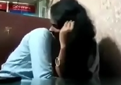 Indian College teens fun round classroom