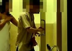 Bhabhi flashing hotel boy