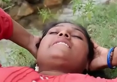 Indian repast Sexy village Aunty intrigue on every side outdoor hot sex flick part-2