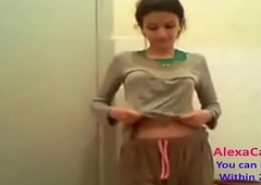 horn-mad Indian desi slurps teen gets ready be come around with action faithfulness (20)