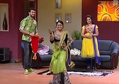 Mallu Serial Actress  Chandana Mazha Actress Megna Hot Dance