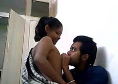 Indian College Couple Shacking up On A WebCam