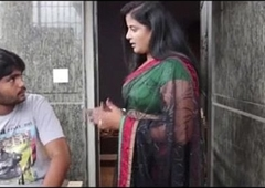Indian Spectacular Bhabhi reduce to penury Tailor - Wowmoyback