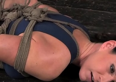 Bdsm sub india summer on floor gambol in the matter of